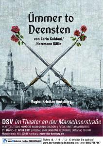 Ümmer to Deensten - DSV im Theater an der Marschnerstraße