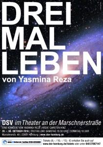 Drei Mal Leben - DSV im Theater an der Marschnerstraße